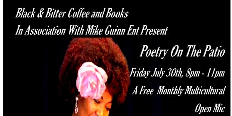 POETRY ON THE PATIO PRESENTS  STEAMY SUMMER NIGHTS  STEPHONIA W. ROBERTS tickets