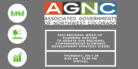 Regional Wrap-up CEDS Planning Meeting tickets