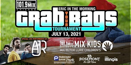 Eric in the Morning Grab Your Bags Tournament with special MIX artists AJR! tickets