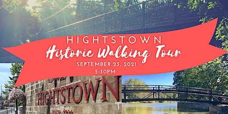 Hightstown Historic Walking Tour - September 23, 2021 tickets