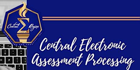 Central Region Electronic Assessment Processing ingressos