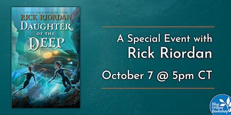 Rick Riordan | Daughter of the Deep tickets