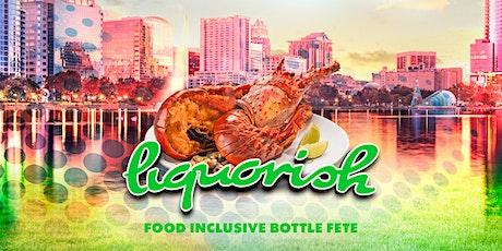 Liquorish Food Inclusive Cooler Fete tickets