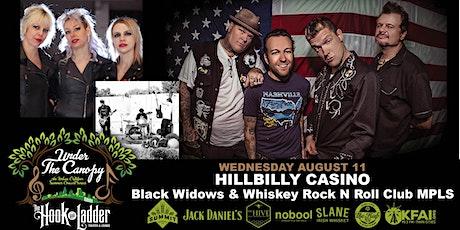 Hillbilly Casino with Black Widows, & Whiskey Rock 'n' Roll Club Mpls tickets