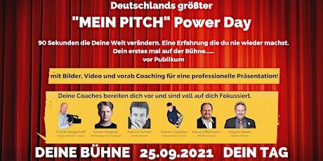 """Deutschlands größter """"MEIN PITCH"""" Power Day (MPPD) Tickets"""