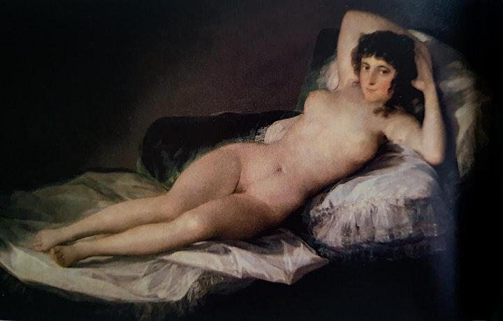 Imagen de Francisco Goya Online y Presencial dibujando con modelo vivo