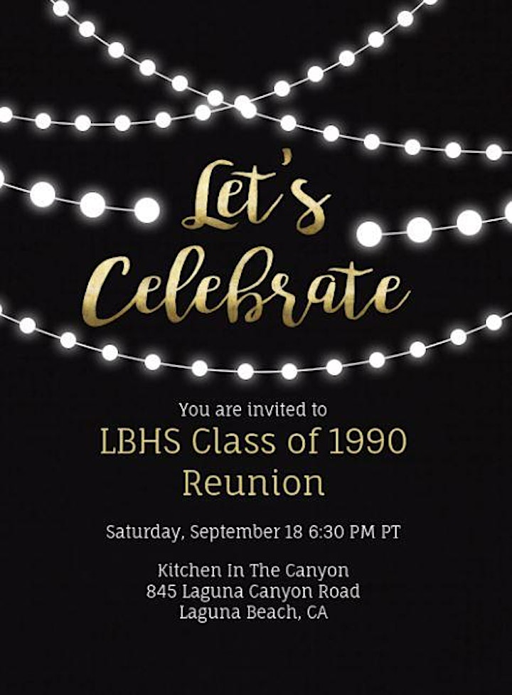 LBHS 30 Year  Class Reunion image