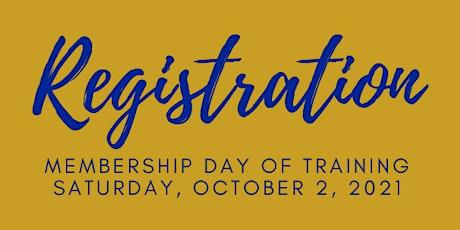 Membership Day of Training tickets
