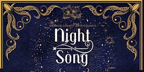 NIGHT SONG , The Art Affair- OCAC's Annual Gala tickets