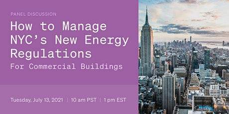 How to Manage NYC's New Energy Regulations for Commercial Buildings tickets