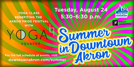 Downtown Yoga - Benefiting the Akron Pride Festival tickets
