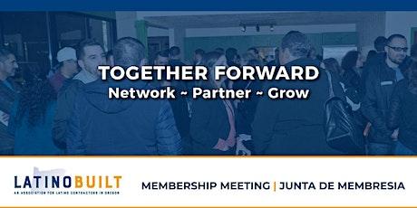 LatinoBuilt's 3rd Quarter Membership Meeting tickets