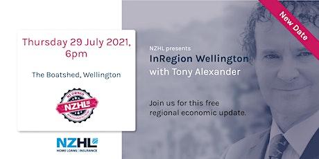 Tony Alexander InRegion Seminar Series - Wellington *Postponed* tickets
