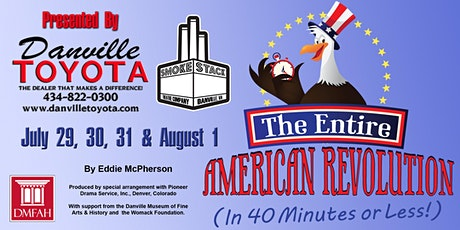 The Entire American Revolution (In 40 Minutes or Less!) tickets