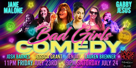 Bad Girls of Comedy tickets