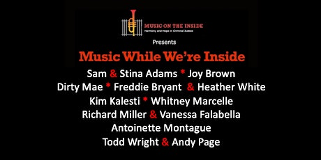 Music While We're Inside Free Concert on Sunday, June 27th at 6PM ET tickets