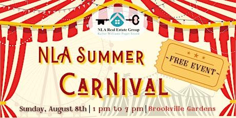 NLA Summer Carnival tickets