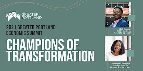 Greater Portland Economic Summit: Champions of Transformation tickets