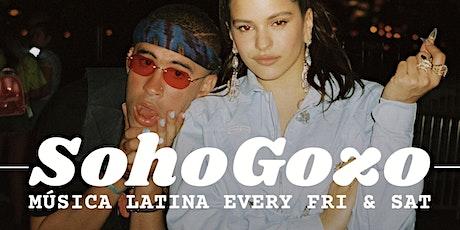 SoHoGozo: Música Latina Fri & Sat @Papatzul NYC tickets
