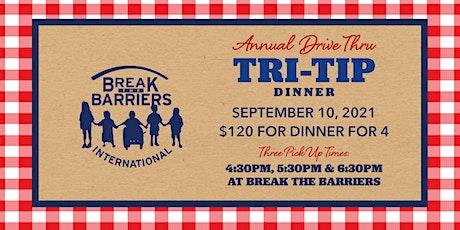 BTB Annual Drive Thru Tri-Tip Dinner tickets