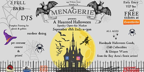 The Menagerie's Haunted Halloween Market tickets