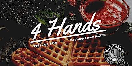 4 Hands Brunch + Beer tickets