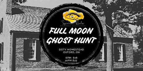 Full Moon Ghost Hunt: Doty Homestead tickets