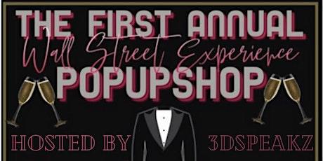 The Black Wallstreet experience pop-up shop tickets