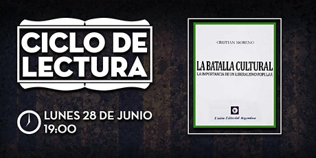 CLUB DE LA LIBERTAD - CICLO DE LECTURA - LA BATALLA CULTURAL entradas