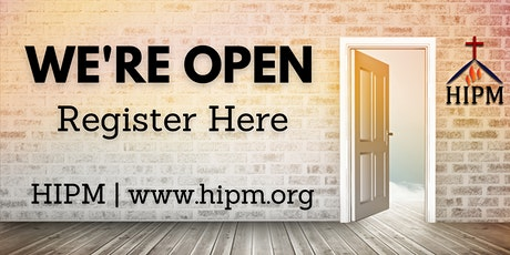 HIPM Sunday Service -Phase 2 Reopening tickets
