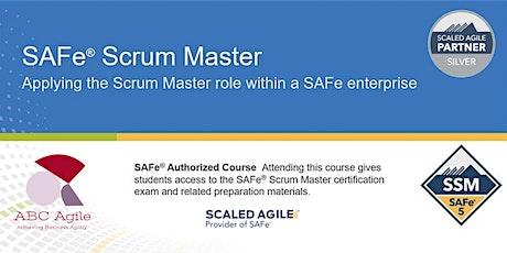 Certified SAFe® Scrum Master 5.1 tickets