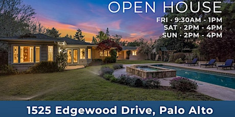 Palo Alto Open House | Remodeled Home on Half Acre Lot tickets