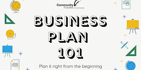 Business Plan 101 tickets