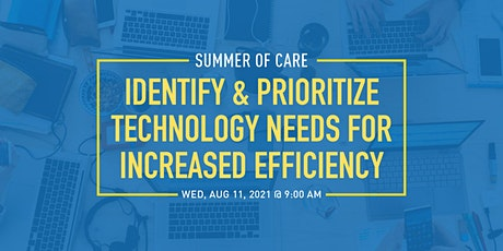 Identify & Prioritize Technology Needs for Increased Efficiency tickets