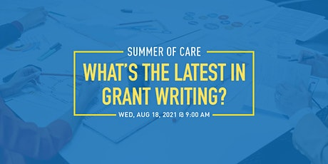 What's the Latest in Grant Writing? tickets