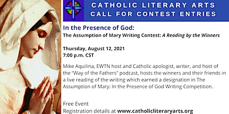 The Assumption of Mary Writing Contest: A Reading by the Winners tickets