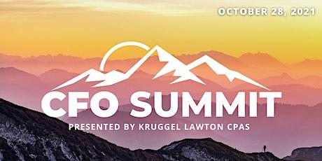 2021 CFO SUMMIT tickets