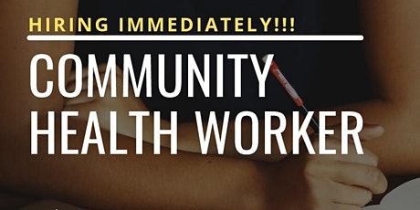 Copy of Community Health Worker Recruitment tickets