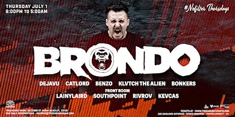 BRONDO @ Treehouse Miami tickets