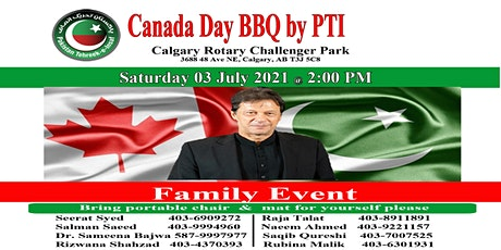 Canada Day BBQ  by PTI tickets