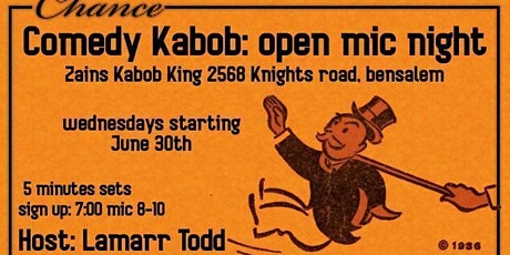 Comedy Kabob Night tickets