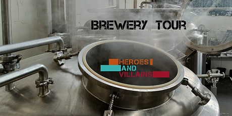 Brewery Tour and Tasting tickets