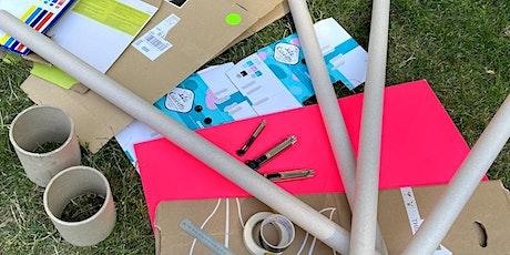 Cardboard Costume & Architecture: Nachhaltiges Bauen und Designen mit Pappe tickets