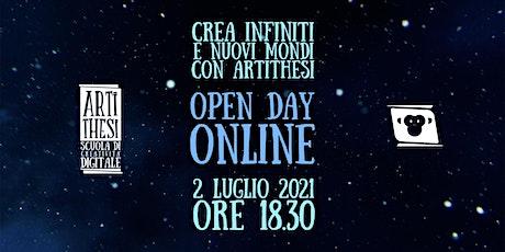 OPEN DAY - ONLINE biglietti