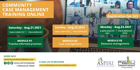 ASPIRE Case Management Training - Online tickets