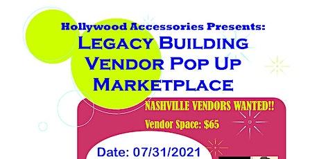 Legacy Building Vendor Marketplace - Nashville, TN - Vendor Registration tickets