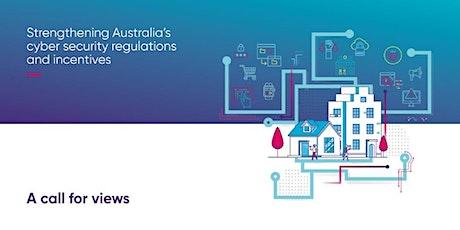 Victoria & Tasmania Open Forum – Strengthening Australia's cyber security tickets