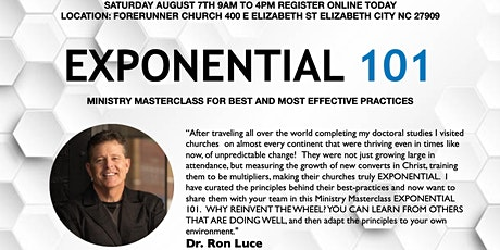 EXPONENTIAL 101 : Leadership Training for the NEXT Level tickets