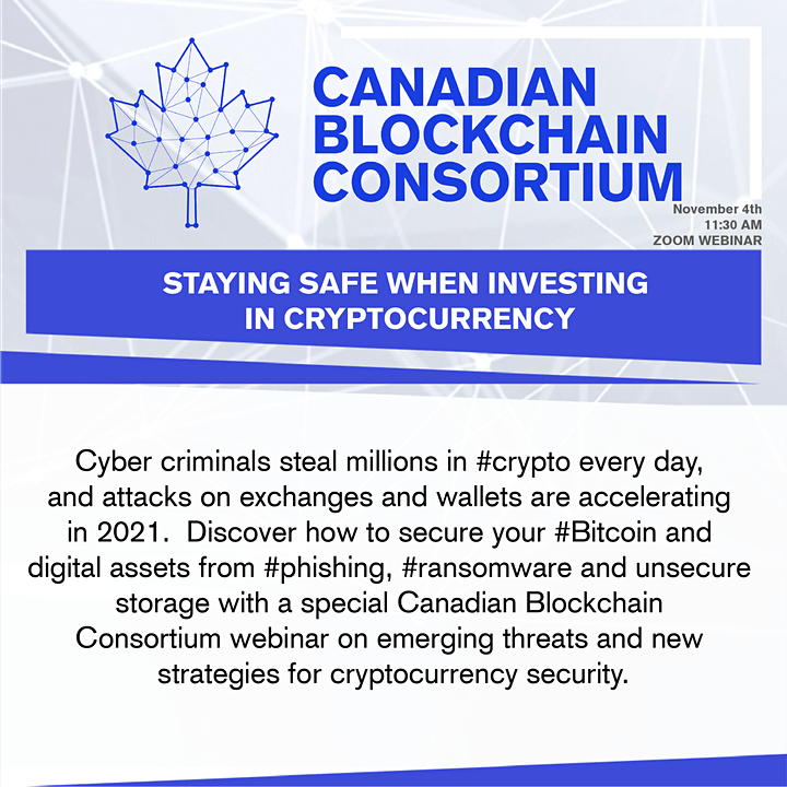 STAYING SAFE WHEN INVESTING  IN CRYPTOCURRENCY image