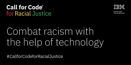 Call for Code for Racial Justice on OpenShift.TV tickets